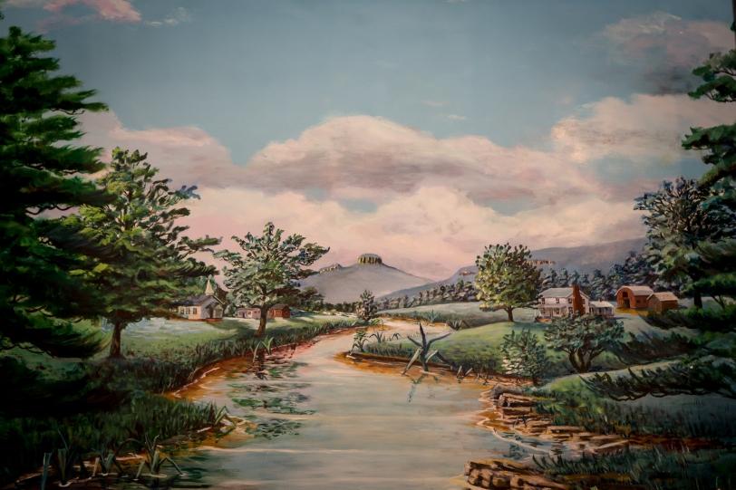 Bethany Baptist Church baptistry painting higher resolution