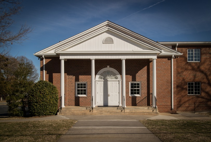 South Fork Church of Christ main entrance