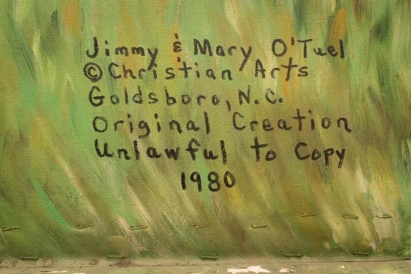 wallburg Baptist Church signature